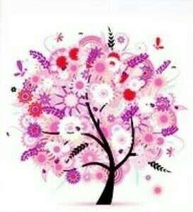 Pink Tree 5D Diamond Art Painting (DIY)