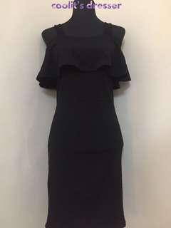 Black Bodycon Dress (NEW!)