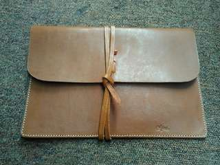 Leather case untuk tab 10inc / map nota