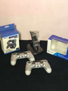 PS4 Silver 500 gb PACKAGE
