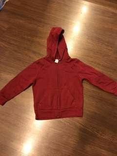 H&M Kids Sweatshirt Maroon