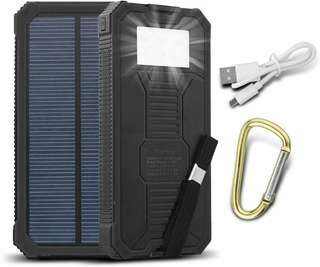 Solar Powered Powerbank