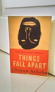 Buku Things Fall Apart ~ Chinua Achebe