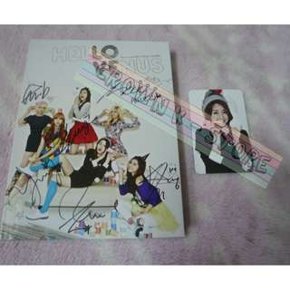 [CRAZY DEAL 80% OFF FROM ORIGINAL PRICE][READY STOCK][RARE]HELLO VENUS KOREA 2ND MINI ALBUM WITH ALL MEMBER REAL HAND AUTOGRAPHED+1PC PHOTO CARD(UNSEALED) NO POSTER!OFFICIAL ORIGINAL FROM KOREA (PRICE NOT INCLUDE POSTAGE)