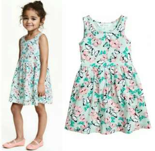 H&M dress for kids 2-10yrs old