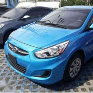 2018 Accent Gas 6 speed Manual with AVN