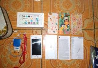 Iphone 5s White 16gb ex Ibox