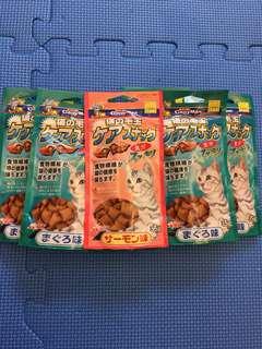 CattyMan日本直送 化毛潔牙餡餅