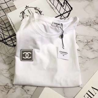 Chanel white tee