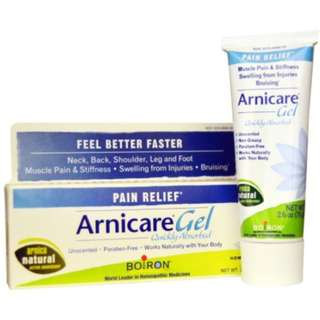 🚚 Boiron Arnicare Gel Pain Relief Unscented 2.6 oz (75 g)
