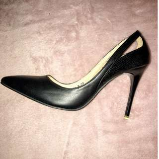 Something Borrowed Black Pumps