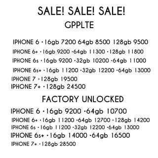 IPHONE 6, 6PLUS, 6S, 6SPLUS