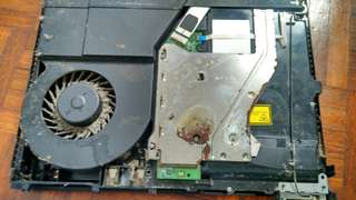 Cleaning PS4 service