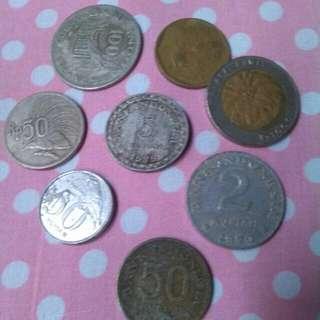 Uang logam dan Kertas Kuno