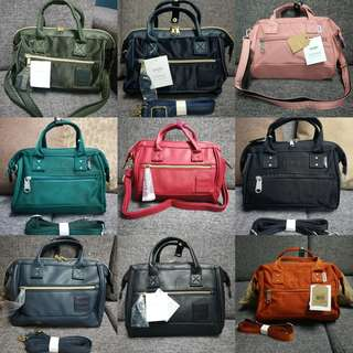 Guaranteed Authentic Anello Sling Bags
