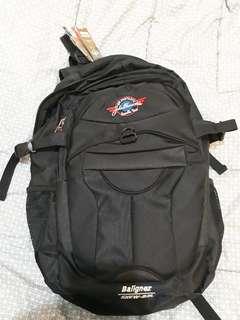 Tas Punggung Hitam dengan Tempat Laptop