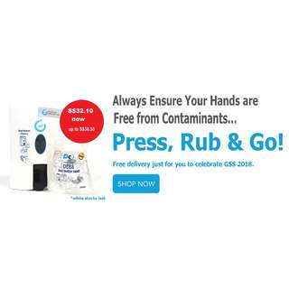 Hand Sanitizer Set (GSS2018)