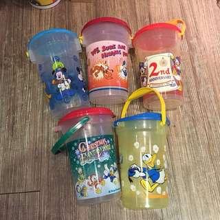 🚚 日本帶回迪士尼早期爆米花桶