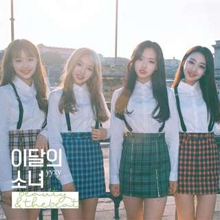 LOOKING FOR LOONA YYXY beauty&thebeat INSTOCK + POSTER