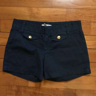 Zara TRF Navy Shorts