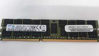 SAMSUNG 16GB SERVER MEMORY PC3L-12800R DDR3 1600MHZ