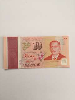 SG50 Commemorative $10 Notes QYOP