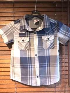 COTTON ON KIDS Checkered Shirt.