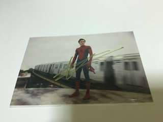 Tom Holland signature photo
