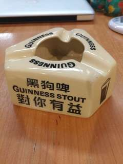 Old Guinness Stout ashtray