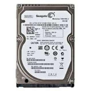 Seagate Momentus 7200 FDE.2 250GB, SATA 3Gb/s hard disk