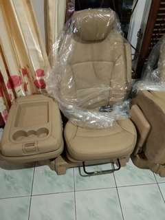 Jok hyundai H1 tipe XG with armrest originale
