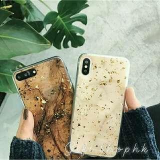 [需訂🙏]韓國網紅大理石全包手工滴膠軟殼💕