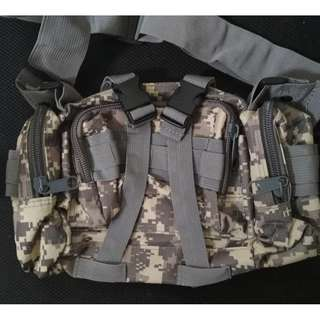 Outdoor Military Tactical Waist Pack Molle Camping Shoulder Bag