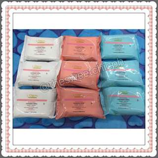 3 for Php100 Loreal Wet Wipes Bundle
