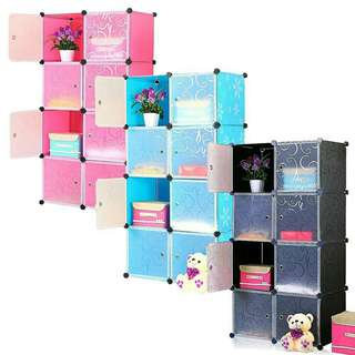 *FREE DELIVERY to WM only / Ready stock, offer* DIY 8 cubes storage cabinets as shown design/color. Free delivery is applied for this item except for certain furniture type.