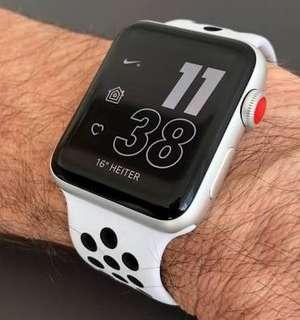 Apple Watch Series 3 38mm Nike Silver Bisa Kredit