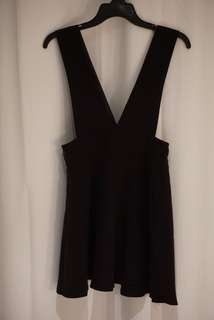 Air Space Black Dress
