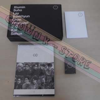 [LAST 1][CRAZY DEAL 80% OFF FROM ORIGINAL PRICE][READY STOCK]EXO KOREA 2016 CHINA VERSION SEASON GREETING SET (UNSEALED) (PIC SHOWN ARE WHAT YOU WILL GET)NO POSTER OFFICIAL ORIGINAL FROM KOREA (PRICE NOT INCLUDE POSTAGE)PLEASE READ DETAILS FOR MORE INFO