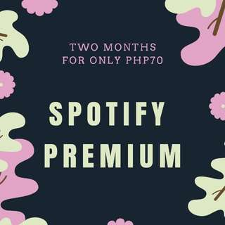 Spotify Premium new account