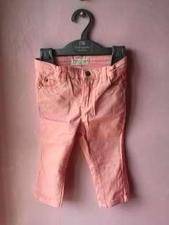 ZIPPY pink pants 12-18 months