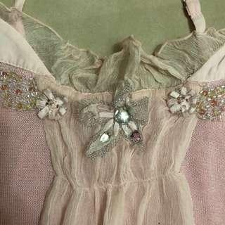 🚚 en-suey粉色上衣