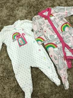 Next 2pack Sleepsuit