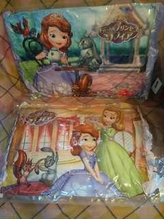 Sofia Princess pillow cushion 蘇菲亞公主枕頭咕
