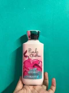 Bath & body works body lotion Pink Chiffon