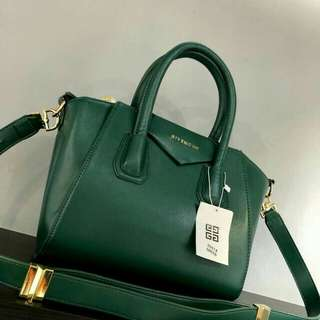 Givenchy Antigona Bag Emerald Green