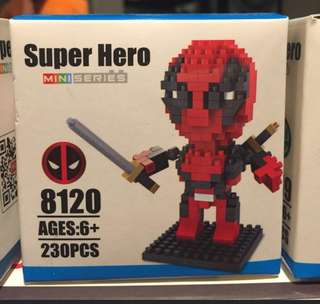 Hsanhe super hero lego type