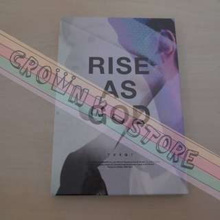 [LAST 1][CRAZY DEAL 70% OFF FROM ORIGINAL PRICE][READY STOCK]TVXQ DBSK KOREA RISE AS GOD ALBUM YUNHO COVER (SEALED) NO POSTER OFFICIAL ORIGINAL FROM KOREA (PRICE NOT INCLUDE POSTAGE)PLEASE READ DETAILS FOR MORE INFO