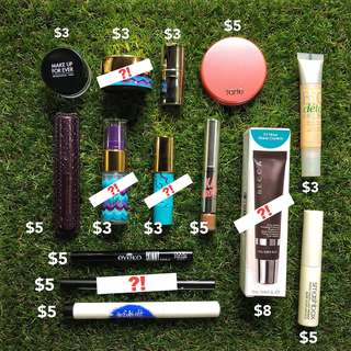 BN Make Up & Skincare Product Samples