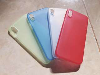 Ultra thin case iphone x