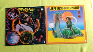 JEFFERSON STARSHIP ● JOE COCKER . spitfire / and the sanctified sisters. ( buy 1 get 1 free )  vinyl record